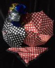 Miracle Colour Changing Polka Dot Silk with Glitter Ball